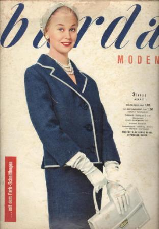 Журнал Burda Moden 1958 3
