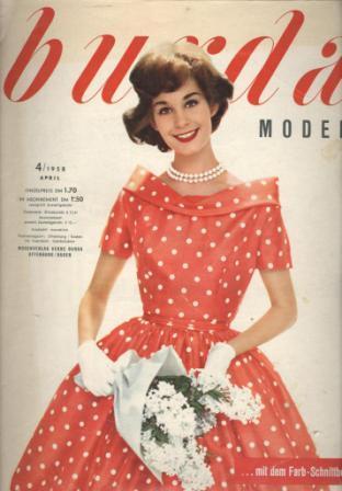 Журнал Burda Moden 1958 4