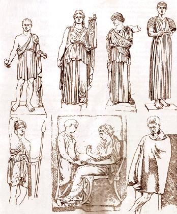 Мода Древней Греции периода расцвета
