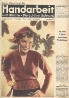 Журнал BEYERs Modenblatt Handarbeit und Wasche (вязание и рукоделие) 1950 10