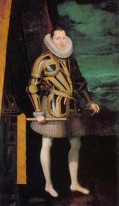Хуан Пантоха де ла Крус Портрет Филиппа III. 1605 Музей Прадо. Мадрид