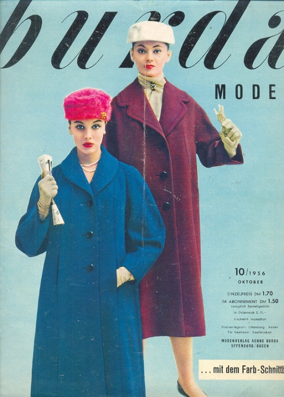 просмотр журналов бурда моден: