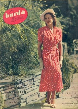 Журнал BURDA MODEN 1950 4