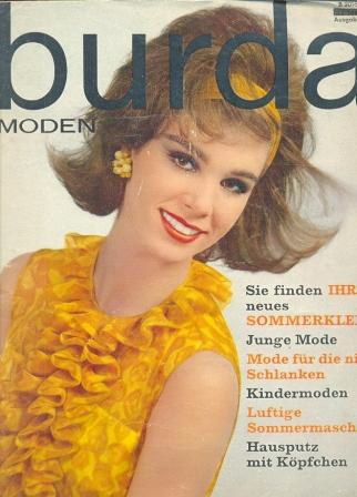 Журнал Burda Moden 1963 4