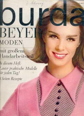 Журнал BURDA MODEN 1964 1
