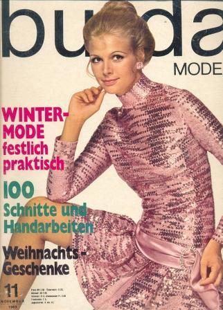 Журнал BURDA MODEN 1969 11
