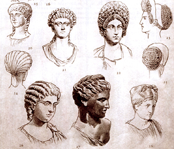 Древний Рим. Прически