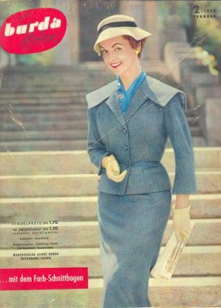 Журнал BURDA MODEN 1955 2