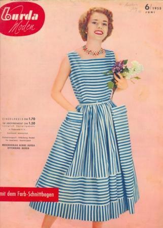 Журнал BURDA MODEN 1955 6