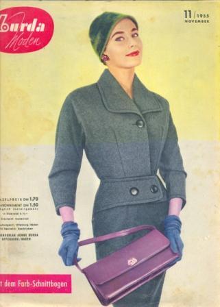 Журнал BURDA MODEN 1955 11