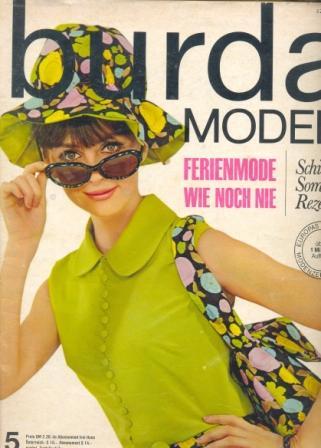 Журнал BURDA MODEN 1965 5