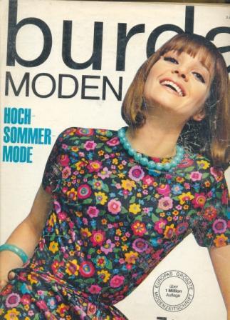 Журнал BURDA MODEN 1965 7