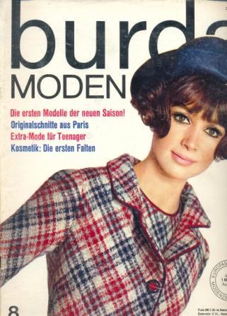 Журнал BURDA MODEN 1965 8