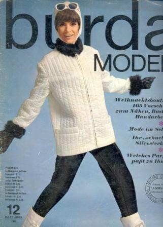 Журнал BURDA MODEN 1965 12