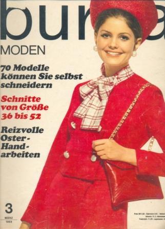 Журнал BURDA MODEN 1969 3