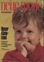 Neue Mode Sonderheft #3161 Unser Kleinkind 1966