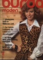 Журнал BURDA MODEN 1974 11