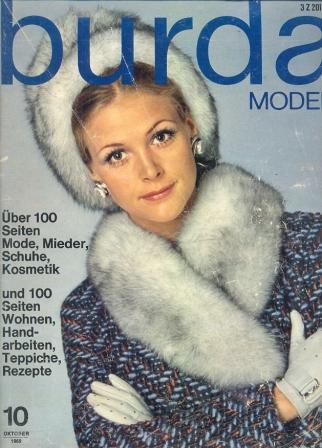 Журнал BURDA MODEN 1969 10