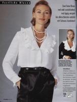 Блузка Из Кружева Бурда