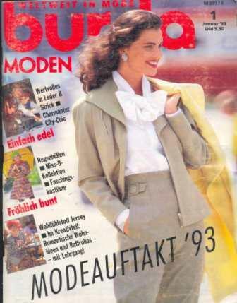 Журнал Burda Moden 1993 1