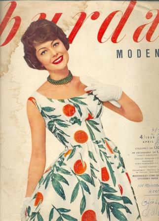 BURDA MODEN (БУРДА МОДЕН) 1959 4