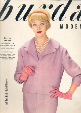 BURDA MODEN (БУРДА МОДЕН) 1959 1