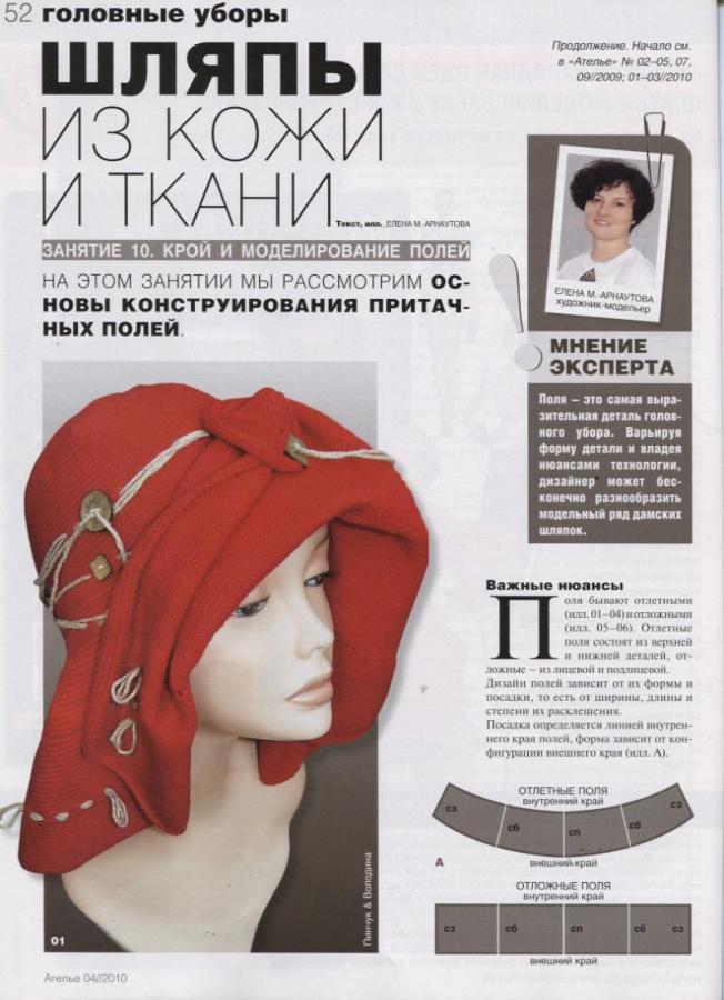 Как сшить шляпку из ткани своими руками 91