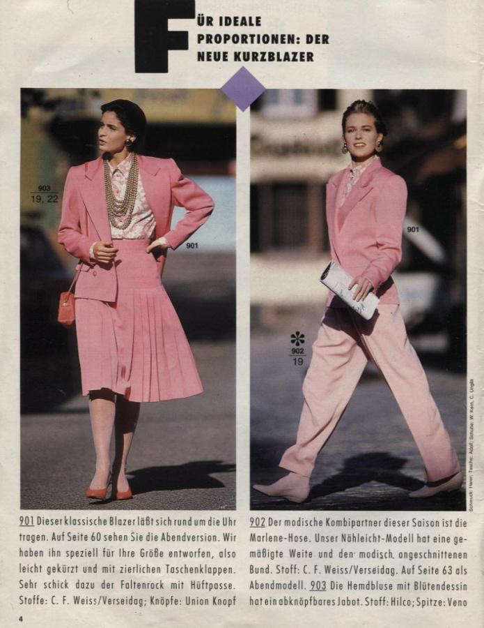 BURDA SPECIAL (БУРДА) Мода для невысоких Mode fur die Zierliche Frau 1989  Е962   БИБЛИОТЕЧКА ЖУРНАЛОВ МОД   Библиотека   МОДНЫЕ СТРАНИЧКИ 6d8252be3d1