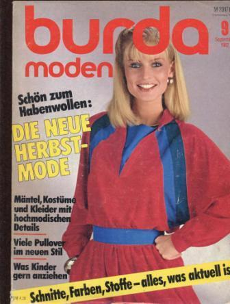Журнал BURDA MODEN 1982 9