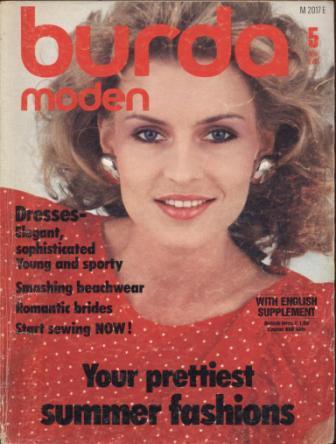 Журнал BURDA MODEN 1983 5