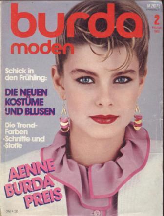 Журнал BURDA MODEN 1983 2