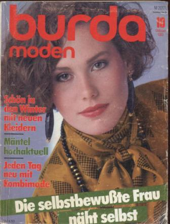 Журнал BURDA MODEN 1983 10