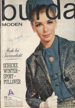 Журнал BURDA MODEN 1962 12