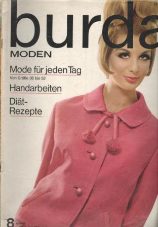 Журнал BURDA MODEN 1963 8