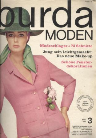 Журнал Burda Moden 1965 3