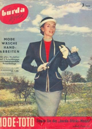 Журнал BURDA MODEN 1952 №3