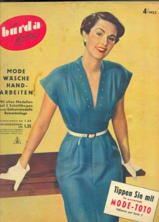 Журнал BURDA MODEN 1952 4