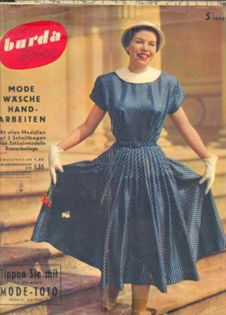 Журнал BURDA MODEN 1952 5