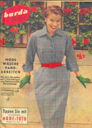 Журнал BURDA MODEN 1952 8