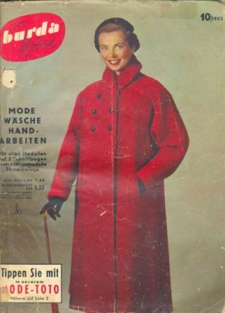 Журнал BURDA MODEN 1952 10