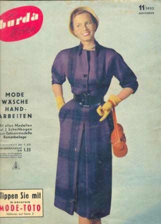 Журнал BURDA MODEN 1952 11