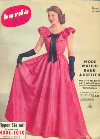Журнал BURDA MODEN 1952 12