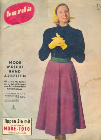 Журнал BURDA MODEN 1953 1