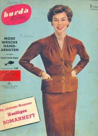 Журнал BURDA MODEN 1954 1