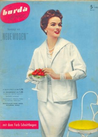Журнал BURDA MODEN 1954 5