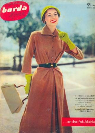 Журнал BURDA MODEN 1954 9