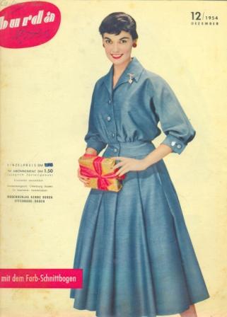 Журнал BURDA MODEN 1954 12
