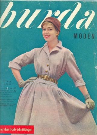 Журнал Burda Moden 1956 1