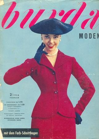 Журнал Burda Moden 1956 2