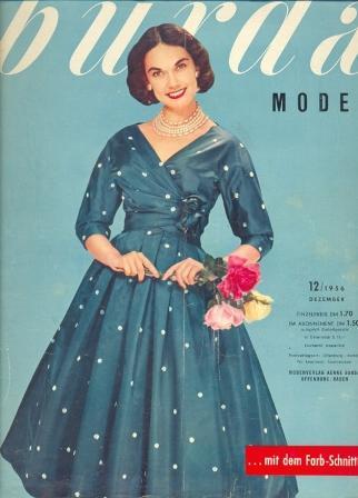 Журнал Burda Moden 1956 12